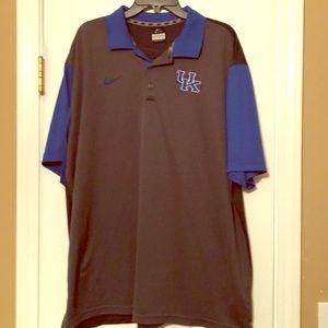 Men's Nike dri-fit University of Kentucky polo